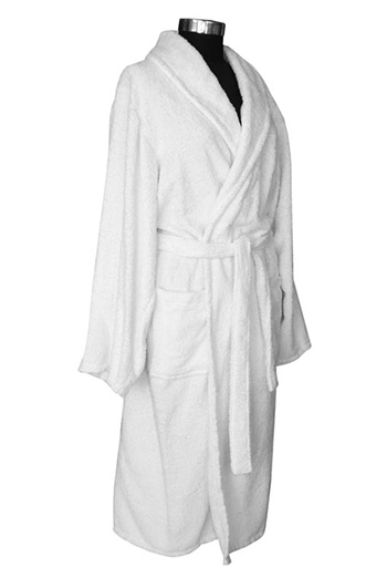 Shall Collar Bathrobe