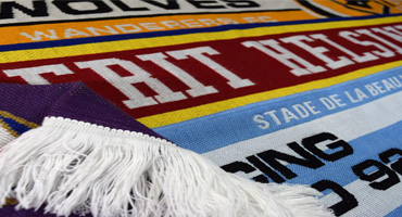 Custom made Fan Scarves